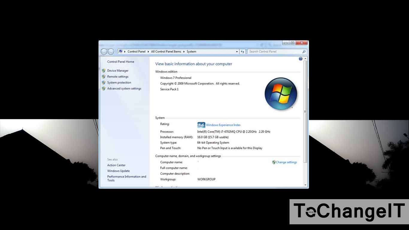 cara cek spesifikasi laptop windows 7