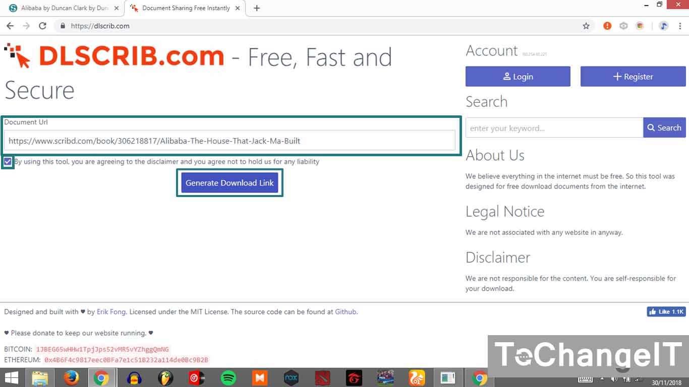 cara download file scribd tanpa bayar