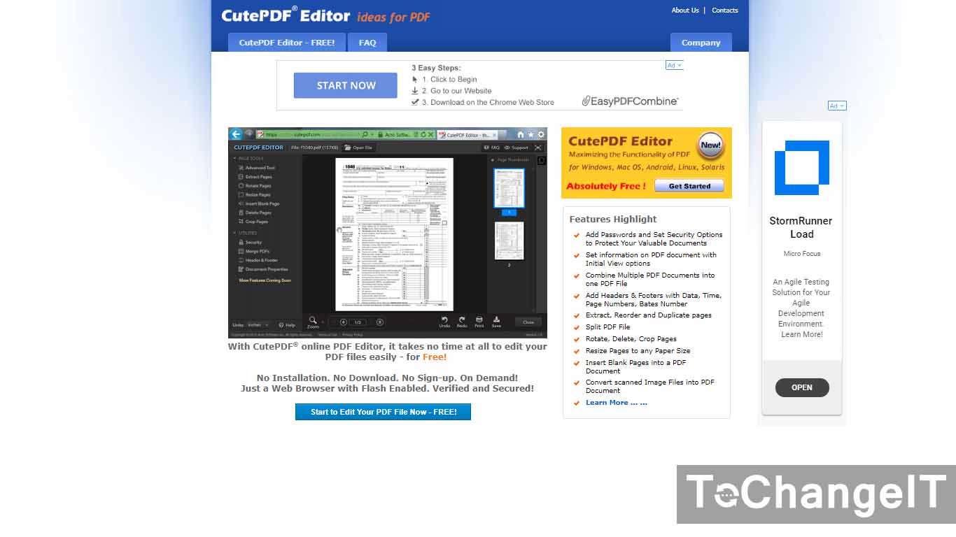 cara edit file pdf tanpa software