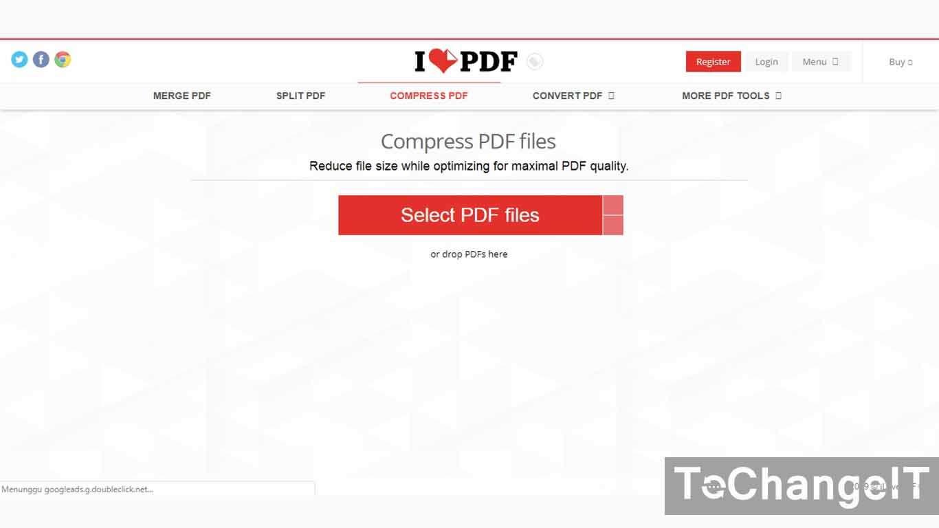 cara kompres pdf tanpa aplikasi