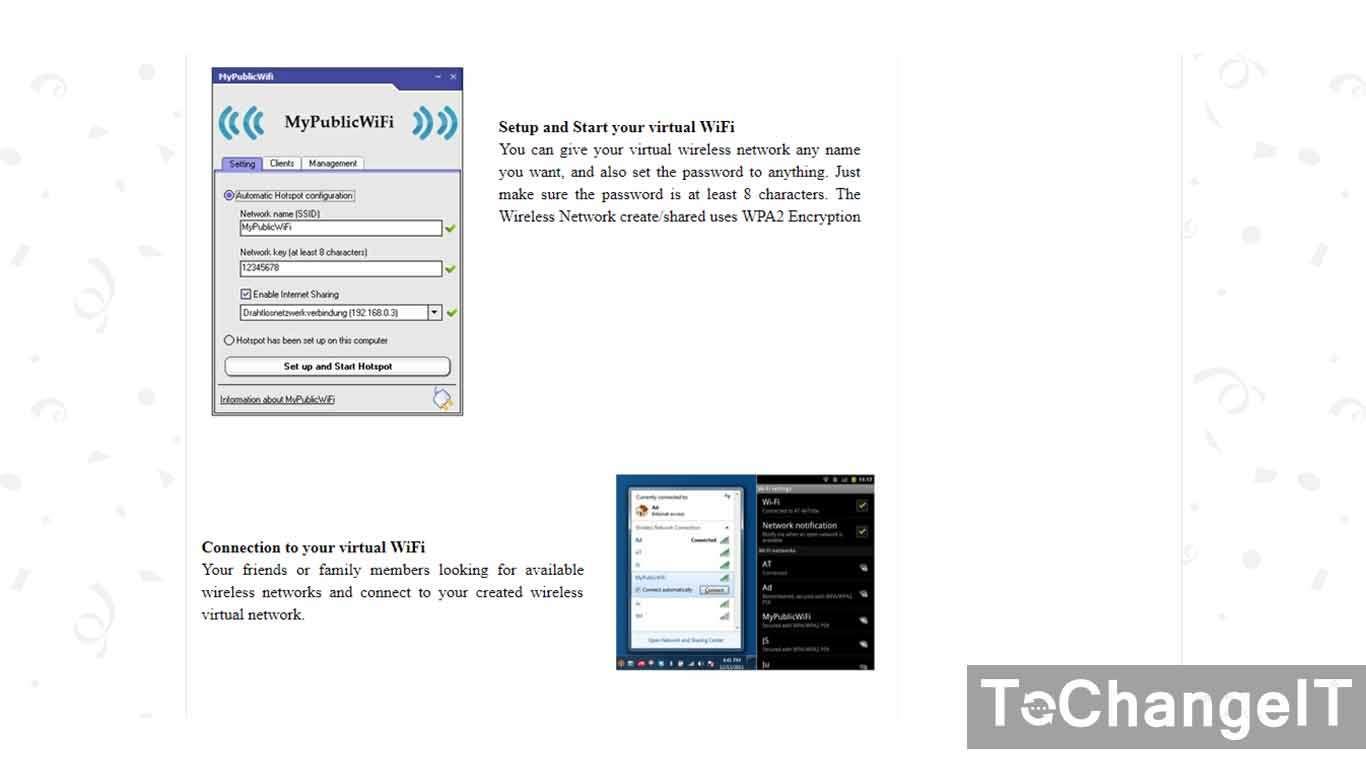 cara membuat hotspot di windows 10 dengan software