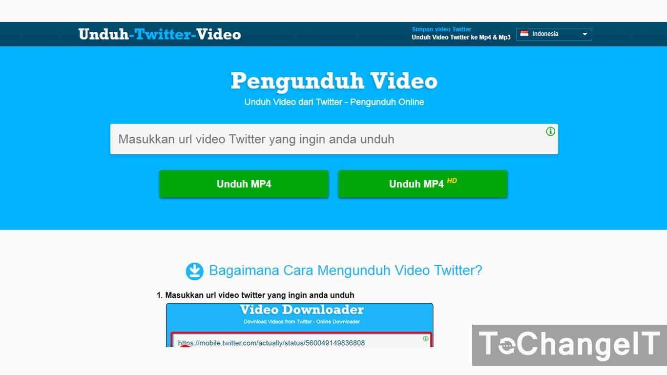 cara menyimpan video dari twitter ke galeri tanpa aplikasi