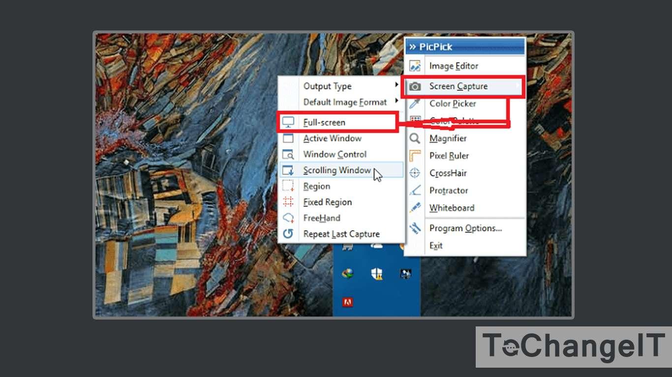 cara screenshot di laptop dell