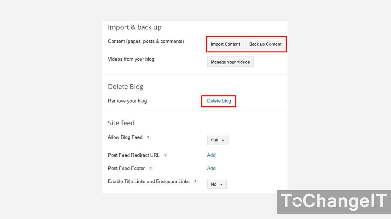 cara menghapus blogspot tanpa login