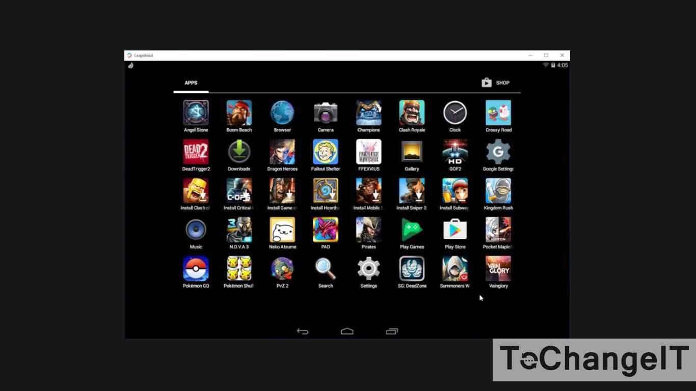emulator android ringan untuk laptop
