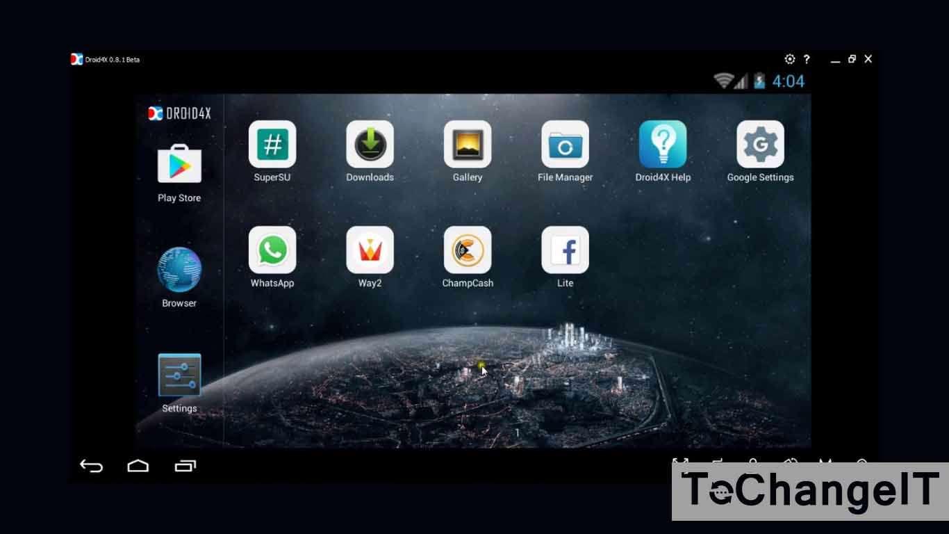 emulator android ringan untuk netbook