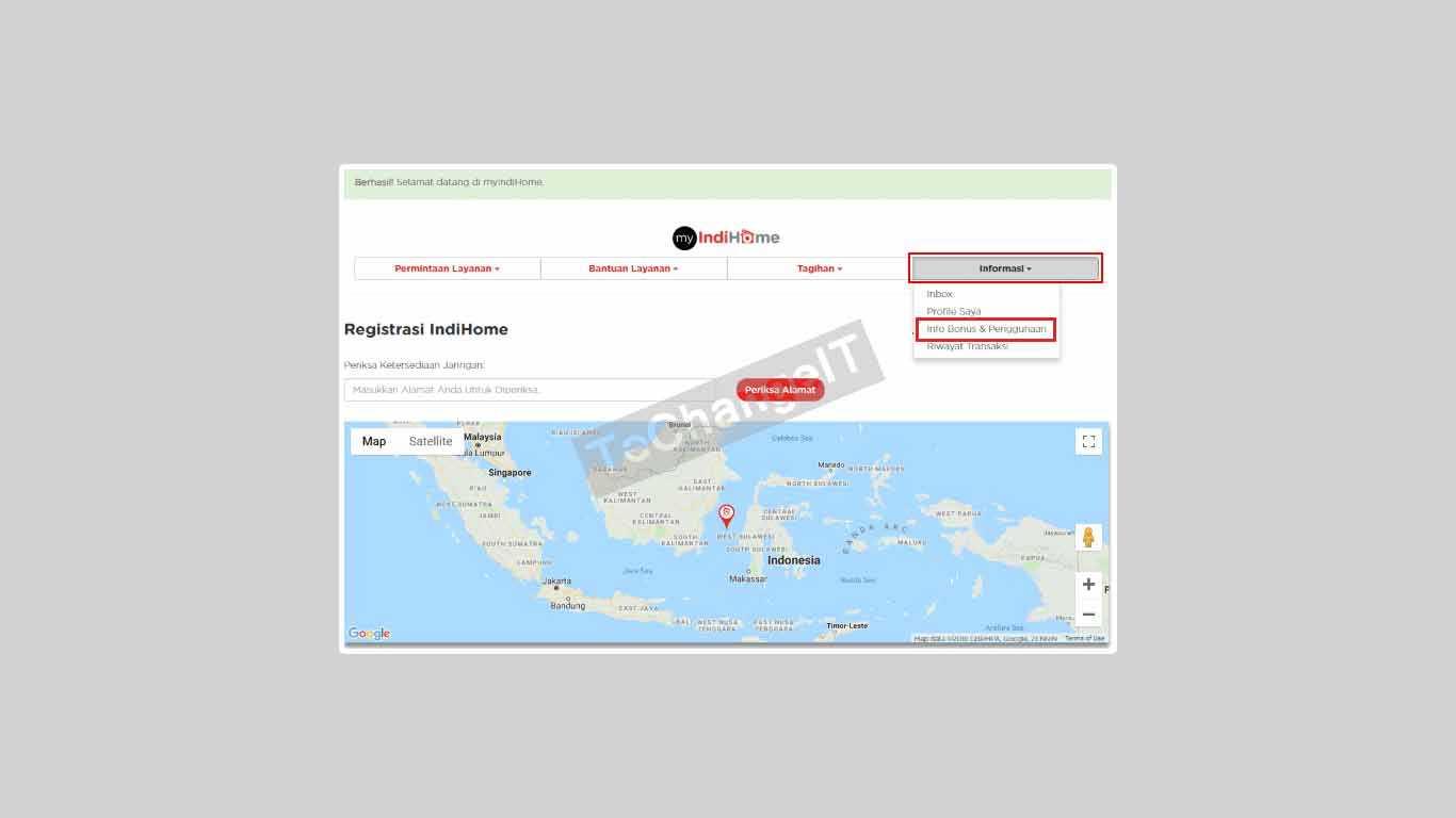 Cek Kuota WiFi IndiHome Lewat Website