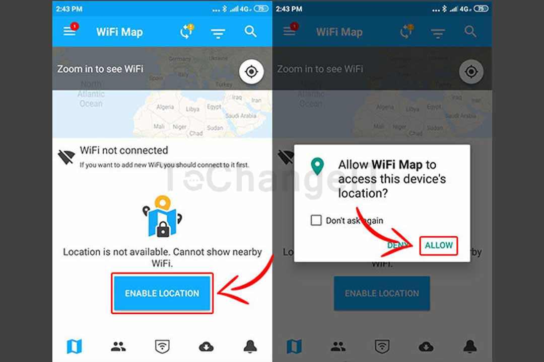 wifi map android
