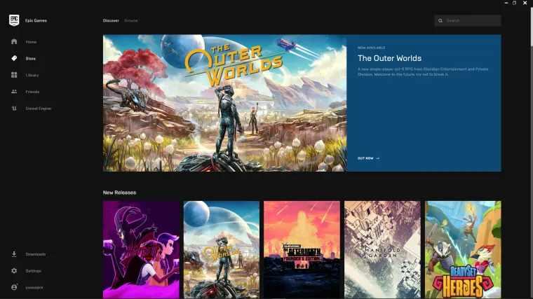 Cara download game pc di epic games