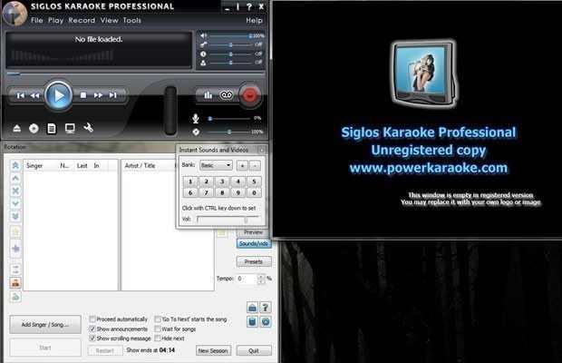 Siglos Karaoke Professional
