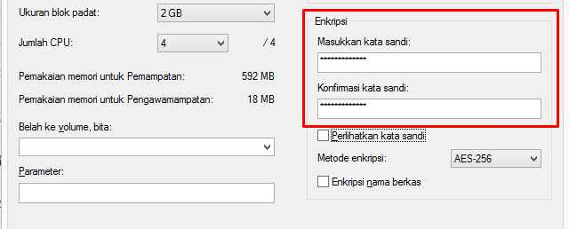 kunci folder di windows 7
