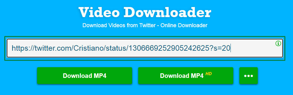 download video twitter di pc