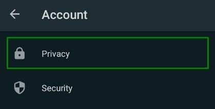 pengaturan privasi whatsapp
