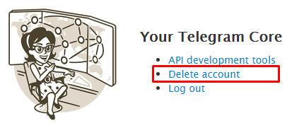 cara hapus akun telegram permanen