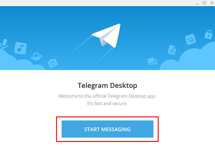 cara menggunakan telegram desktop di pc windows