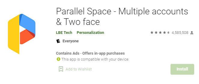 parallel space apk