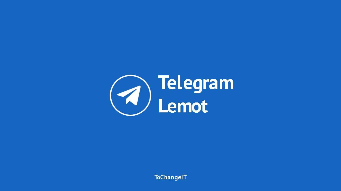Telegram Lemot
