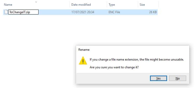 cara membuka file ENC di PC