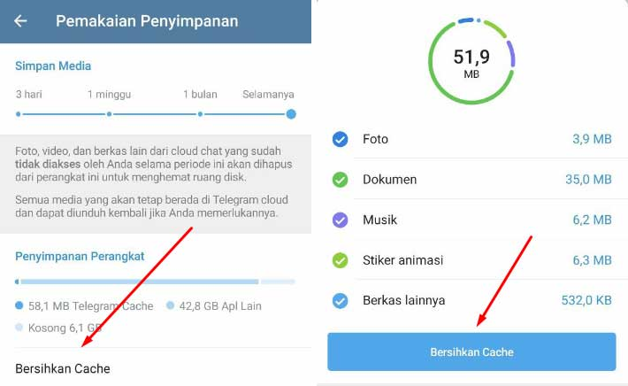 cara mengatasi kenapa telegram tidak bisa download