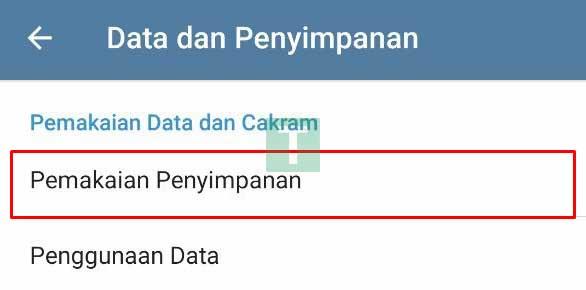 data storage telegram